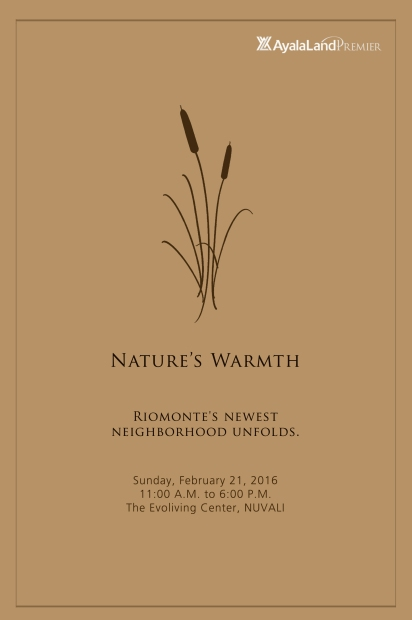 Nature's Warmth - Riomonte Neighborhood 4 Launch (1)